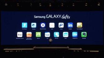 Samsung Galaxy Gift MWC 2014