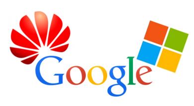 huawei-google-microsoft